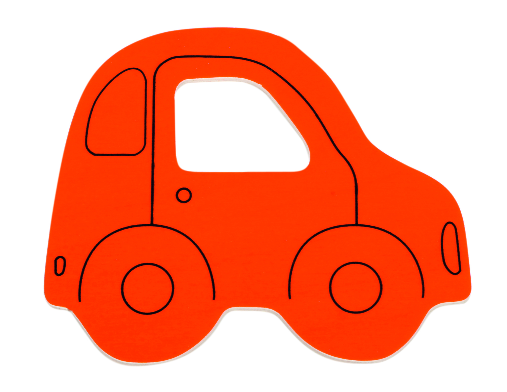 Картинка машина без колес для малышей 4