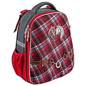 Школьный рюкзак OXFORD 1008-152 Оксфорд Лошадки